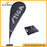 Bandierina solare di mostra di stampa di alluminio esterna di Digitahi/bandierina del Teardrop