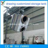 Serbatoio caldo dell'acciaio inossidabile del quadrato di vendita con le flange