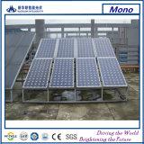 Façade en verre de bonne qualité avec le panneau solaire de BIPV
