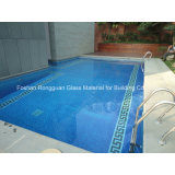Reticolo di mosaico artistico per il disegno della piscina