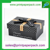 Anunció la caja de embalaje del rectángulo del regalo cosmético superior del maquillaje