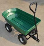 Chariot en plastique avec quatre roues