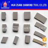 Granite Marble Limestone를 위한 다른 Shapes Diamond Segments Stone Cutting Segment