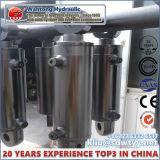 Elevador personalizado do carro único/cilindro hidráulico de vários estágios ativo do dobro em vendas