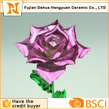 Alambre de la flor artificial para el día de tarjeta del día de San Valentín