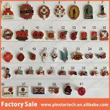 Blumen-Revers Fabrik-Direktverkauf-Mohnblume-Revers-Abzeichen-China-Wholesa und Revers-Blume