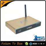 Rectángulo elegante de Ott TV de los lenguajes multi del soporte de los firmwares de F8 K200