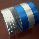 Aluminio Ultra-Textured cuatro detectores de humos de la capa con la luz