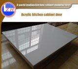 卸し売りスクラッチ抵抗力がある積層の白いメラミンアクリルの食器棚のドア(zhuv)