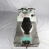Leistungsfähiger Schnee-Ski LED beleuchtet den Erwachsenen, der einen Snowmobile läuft