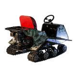 子供安全な最小のゴム製トラック氷の競争の子供のスノーモービル
