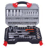 "108PCS 1/4 "" u. 1/2 "" Dr. Socket u. Bit Set/Ratchet Socket Wrench Set"