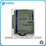 Punho reusável material de nylon de NIBP para o adulto (com bexiga)