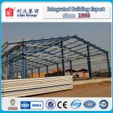 Abu Dhabi гальванизировало пакгауз стальной структуры полуфабрикат