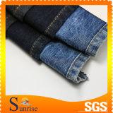 Ткань 100% джинсовой ткани хлопка с по-разному цветом