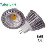 7W COB 12V MR16 LED de la lámpara