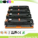 HP CB540A/CB541A/CB542A/CB543A (125A)の競争価格または試供品のための工場直売カラーコピアーのトナーカートリッジ