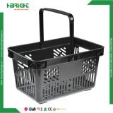Virgin PP Plastic Shopping Basket para supermercado