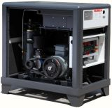 20HP/15kw Belt Driven A / C Power Lubricated Screw Air Compressor