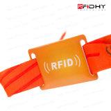 Tag Festival de RFID sin contacto RFID Tela reloj de pulsera de la venda