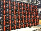 Visualización de LED de la etapa de la consumición de las energías bajas P5.95 al aire libre