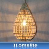 Lamp van de Tegenhanger van de Strook van Homelite de Natuurlijke Houten