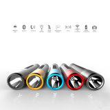 Bluetooth Speakerの多機能のクリー語R3高いBright Flashlight
