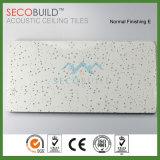 Tuile minérale suspendue de plafond de fibre de faible densité