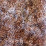 Piel artificial de la PU de la cera de cuero del petróleo del sofá para los muebles (928#)