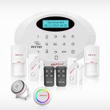 Loup-Garder l'alarme à la maison sèche sans fil sûre de garantie de cambrioleur de garantie à la maison de GM/M SMS avec le système de détecteur de mouvement