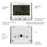 Monitor sem fio da umidade do termômetro do higrómetro da mesa interna do LCD Digital