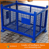 Stapelbares Metal Wire Mesh Container für Industrial Warehouse Storage