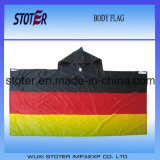 флаг плащи-накидк тела 90*150cm Германия
