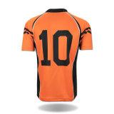 Chemise faite sur commande du football de qualité de vêtements de sport de 2016 ventes en gros