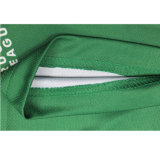 t-셔츠 폴로를 인쇄하는 주문을 받아서 만들어진 녹색 폴리에스테 승화