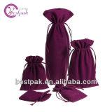 Petits sacs faits sur commande bon marché de cadeau de velours