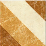Mattonelle di pavimento lustrate lucidate decorazione dorate di uso hotel/della casa