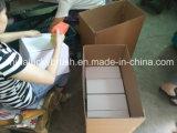 Escova de roda de eixo abrasivo de nylon de cor vermelha (YY-047)
