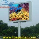 Afficheur LED extérieur de la couleur TV P10 d'éclat superbe