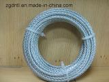 zinco 6X19+FC/corda galvanizzata del filo del filo di acciaio