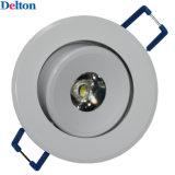Delton 3W LED de luz del gabinete para la joyería y adorno de Uso