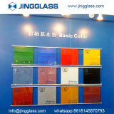 Sûreté en gros de construction de bâtiments feuilletant la glace teintée colorée en verre