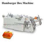 Machine à grande vitesse de bonne qualité de fabrication de cartons de l'hamburger 2016 (QH-9905)