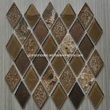 2016 Diamond con estilo Ice Crackle Ceramic Mosaic con Glass