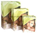 Saco de papel de compra dos desenhos animados/saco de papel do presente