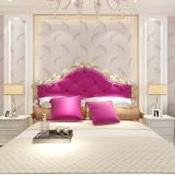 Seamless Country Classic Feather Embossing Wallpaper Fabric Bedroom Livingroom