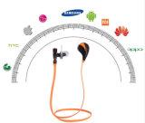 Trasduttore auricolare impermeabile Earbuds di Bluetooth di sport del MP3 della radio