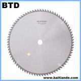 La circulaire de CTT de découpage de contre-plaqué scie la lame
