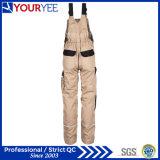 Pantalon global de bavoir ignifuge durable bon marché de vêtements de travail (YBD117)