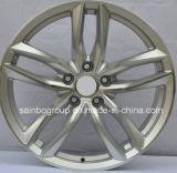 Pintura / Usinado / acabamento cromado e roda de 5 furos para Audi